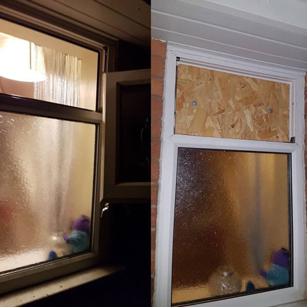 after burglary repair bolton